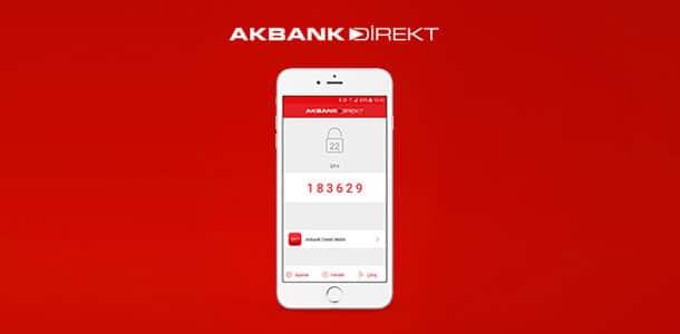 akbank direkt şifre alma