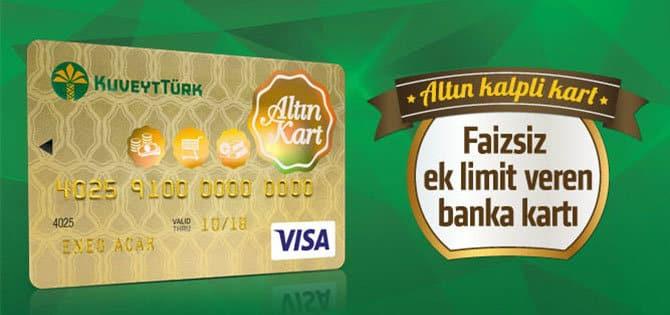 kuveyt türk kart puanı ile gram altın