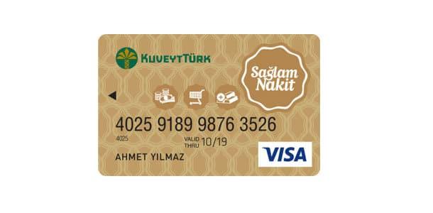 kuveyt türk sağlam nakit kart