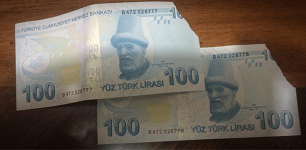 yırtık parayı banka alır mı