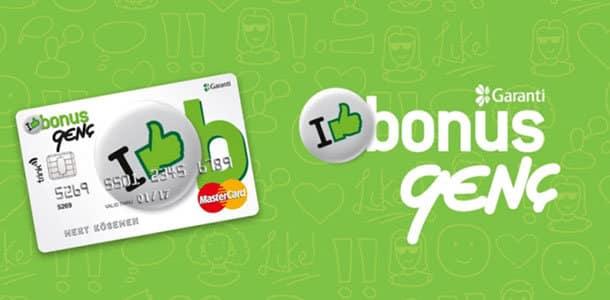 garanti bonus genç kart özellikleri