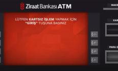 ATM'den Kartsız Para Gönderme Resimli Anlatım [Para Yatırma]