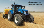 Ziraat Bankası Traktör Kredisi