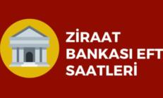 Ziraat Bankası EFT Saati